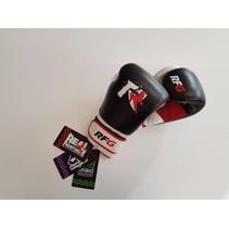 Real Fightgear BXBW-1 Boks handschoenen - Zwart/Wit