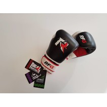 Real Fightgear BXBW-1 Boxing gloves - Black/White