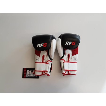 REALFIGHTGEAR Real Fightgear BXBW-1 Boxing gloves - Black/White