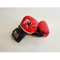 Real Fightgear BXRB-1 Boks Handschoenen - Rood/Zwart