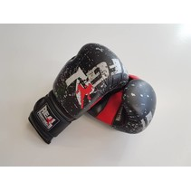 BXBR-1 Boks Handschoenen - Zwart/Rood