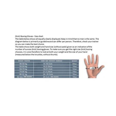 REALFIGHTGEAR Real Fightgear BXBR-1 Boxing gloves - Black/Red