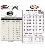 King Professional KING-KTBS 33 KICKBOKS BROEK BL/BR