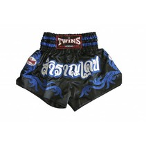 TWINS TTBL66 KICKBOX SHORT-BL/BL