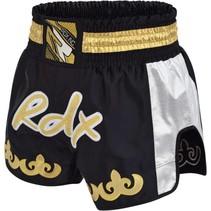 Clothing R-7 Muay thai short Silver/black