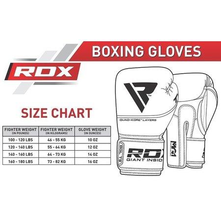 RDX SPORTS (Kick) boxing glove T9 Red