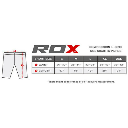 RDX SPORTS Compressiebroekje Multi