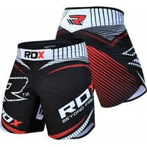 MMA Short R1 - Red