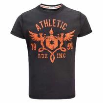 T-shirt R2 - Orange/black