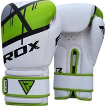 (Kick)Boks handschoenen F7 - groen & rood