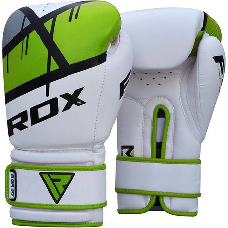 RDX SPORTS (Kick)Boxing glove F7 - Green, red and blue