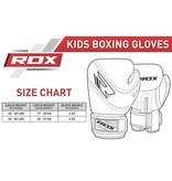 RDX SPORTS (Kick)Bokshandschoenen kinderen - zwart/wit