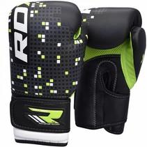 (Kick)Bokshandschoenen kinderen - zwart/groen