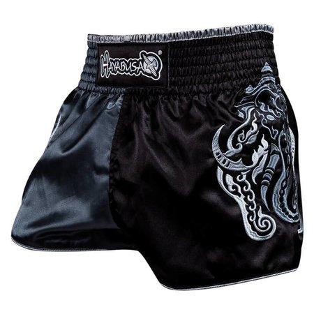 HAYABUSA Wisdom Muay Thai (kick)boxing Shorts - Grey