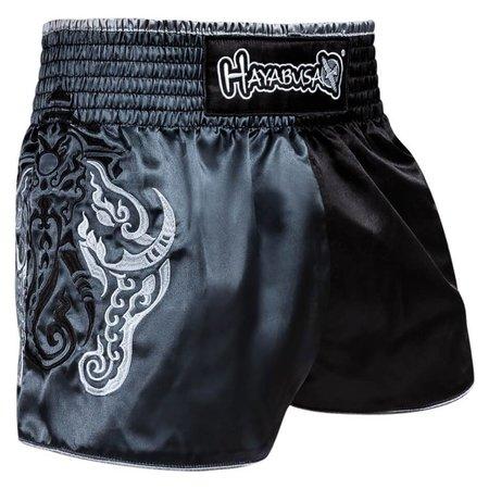 HAYABUSA Wisdom Muay Thai (kick)boks broekje - Grijs