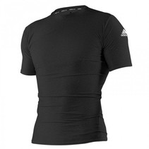 Rashguard Closefit Short Sleeve Black