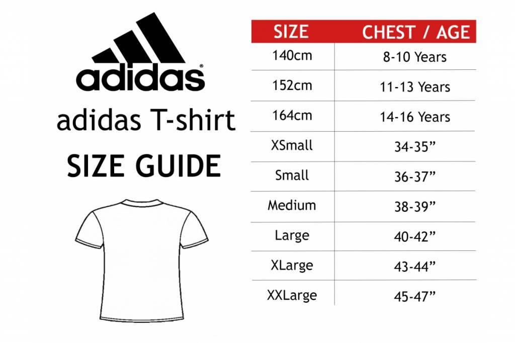 adidas shirt length