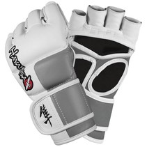 Tokushu 4oz MMA Gloves White