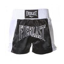 Thai boks broekje Zwart/ Wit