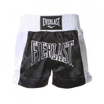 Thai boxing short Black/White