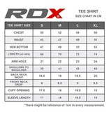 RDX SPORTS RDX Logo T Shirt - Zwart