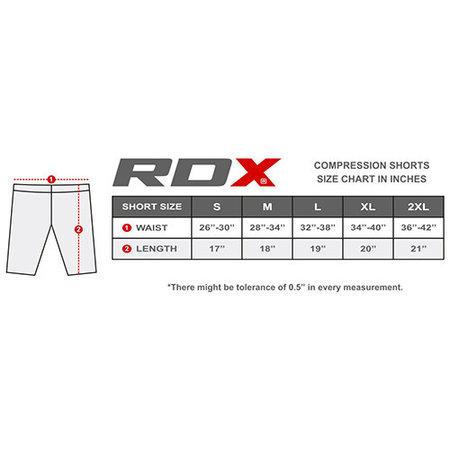 RDX SPORTS RDX BASE LAYER THERMAL FLEX COMPRESSION SHORTS