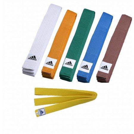 Adidas Budo belt all colors