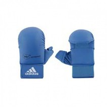 WKF Semi contact Karate Glove With Thumb blue
