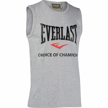 Everlast Everlast Mouwloos boksshirt -Grijs