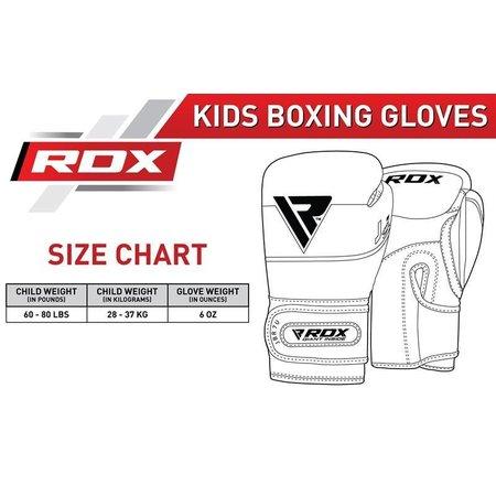 RDX SPORTS RDX JBR7 6OZ KIDS BOXING GLOVES