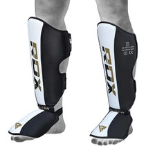RDX T4 LEATHER SHIN INSTEP GUARDS