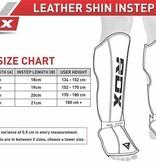 RDX SPORTS RDX T4 Lederen Scheenbeschermers