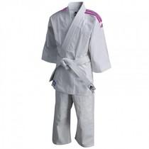 Judo gi kids J200E Evolution white/pink