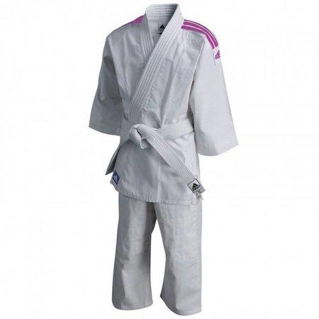 Adidas Judo gi kids J200E Evolution white/pink