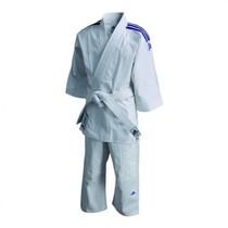 Judo gi kids J200E Evolution white/blue
