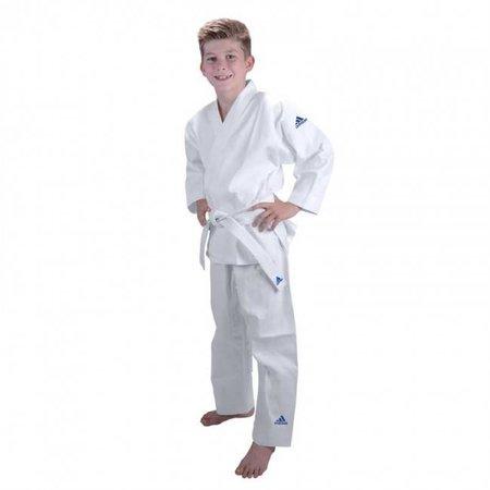 Adidas Judopak kind J181 wit/blauw
