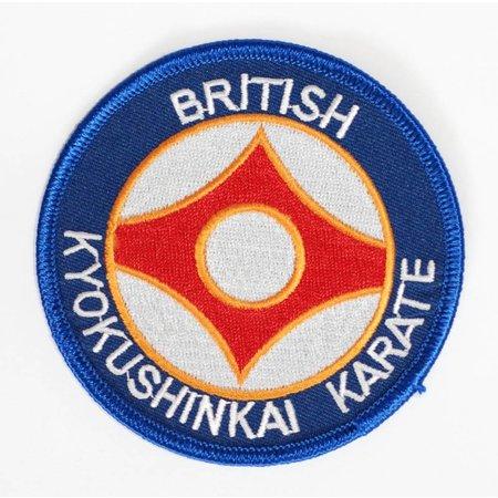 BRITISCH KYOKUSHINKAI KARATE ORGANISATIE LOGO BORDURING