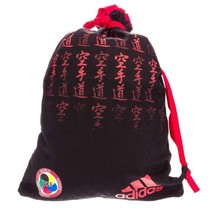 adidas Backpack WKF Approved Satin Black / Red