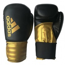 Adidas Hybrid 100 (Kick) Boxing gloves Black / Gold