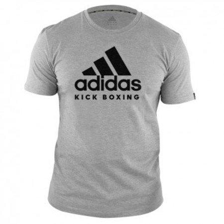 Adidas adidas T-Shirt Kickboxing Community Gray / Black