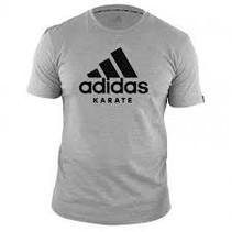 adidas T-Shirt Karate Community Gray / Black
