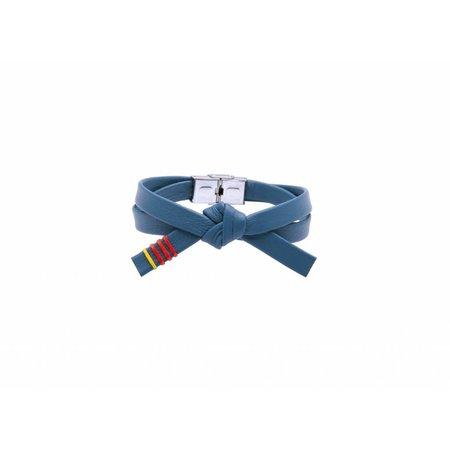 Lederen OBI armband