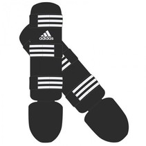 Adidas Shin Guards Good Black / White