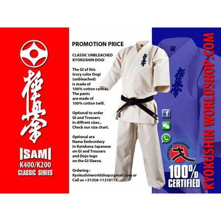 ISAMI ISAMI Classic Kyokushin Karate Jacket