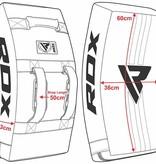 RDX SPORTS RDX T1 Gel Padded Curved Kick Shield