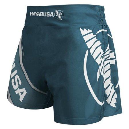 HAYABUSA Kickboxing Short 2.0 Steel Blue