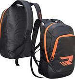 RDX SPORTS RDX GYM TRAINING SPORTS BACKPACK KIT BAG BLACK/ORANGE