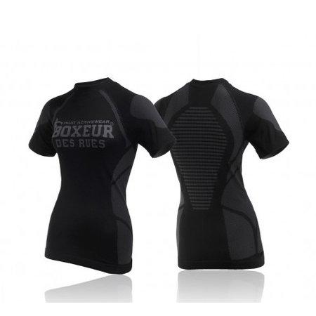 Boxeur des Rues Boxeur des Rues Dames Ss T-shirt Dryarn