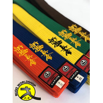 ISAMU Colored Shin Kyokushin Kyu Band