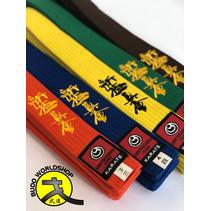 ISAMU Gekleurde Shin Kyokushin Kyu Band